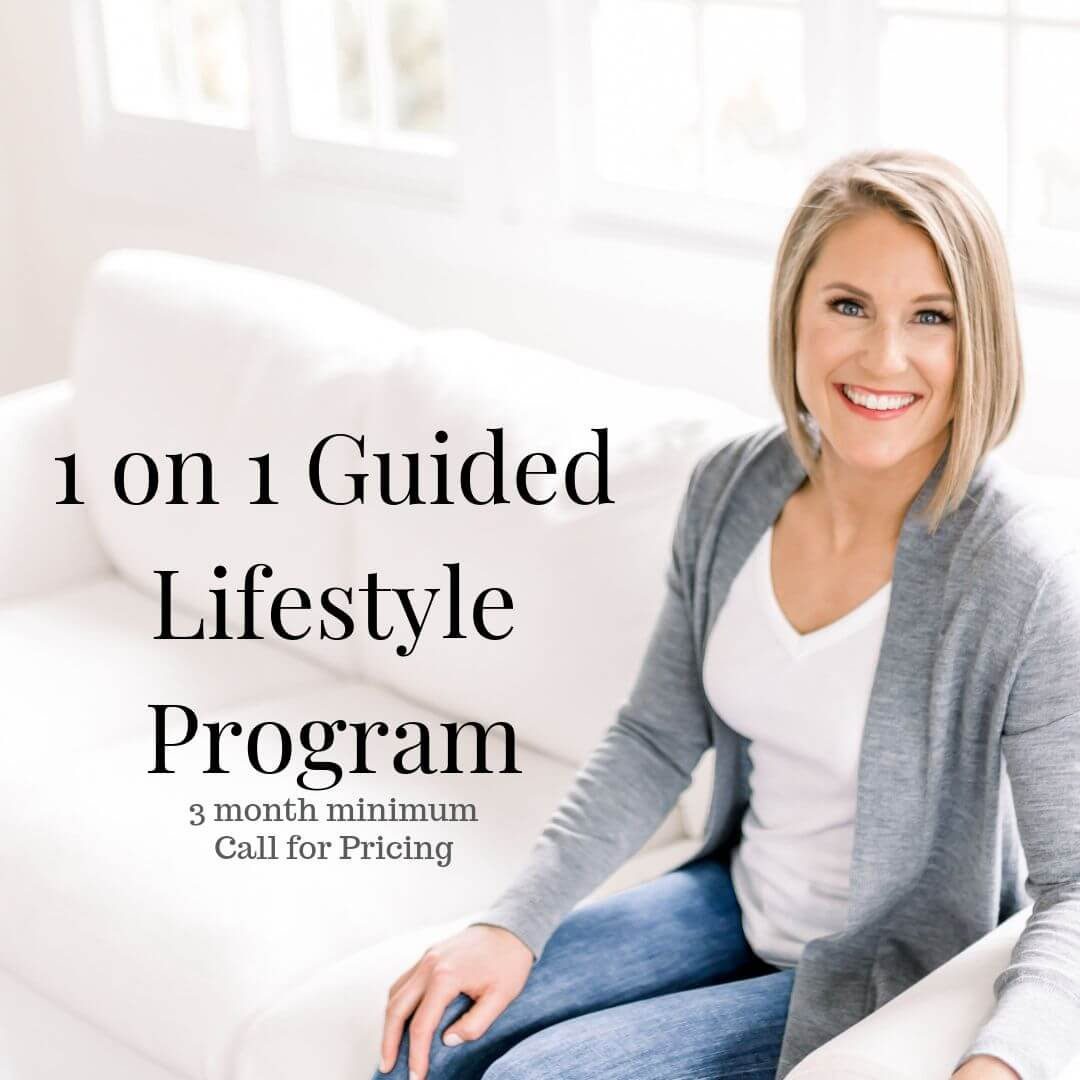 1 on 1 Guided Lifestyle Program <br/>(click to book)
